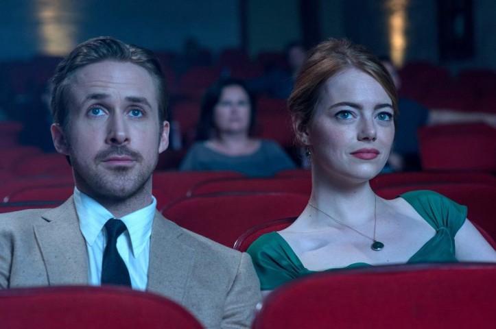 "Ryan Gosling i Emma Stone w ""La La Land"""