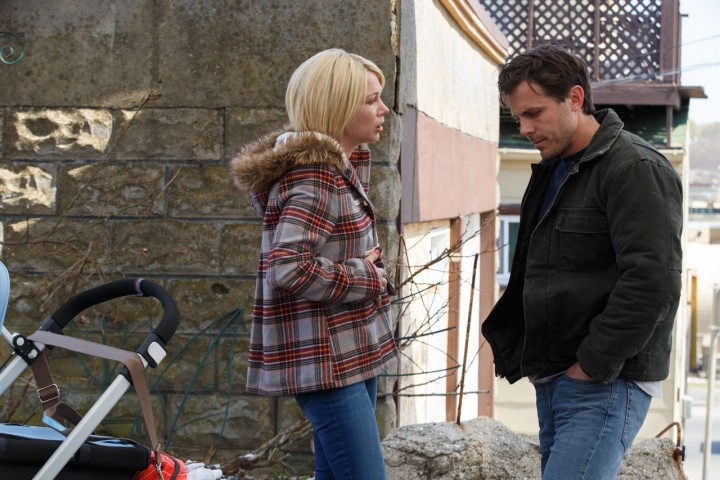 "Michelle Williams i Casey Affleck w ""Manchester by the sea"""
