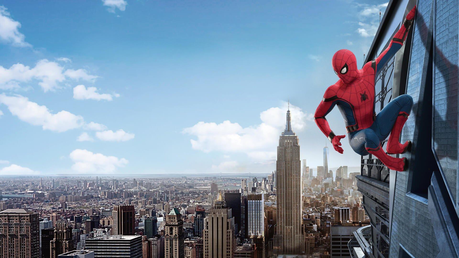 Znalezione obrazy dla zapytania spiderman homecoming
